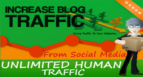 Unlimited Human Traffic Social Media Networks